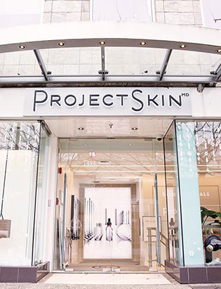 project skin md exterior signage