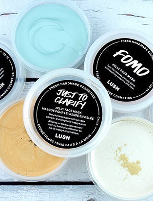 lush visual merchandiser kyle ziegenhagel lush products