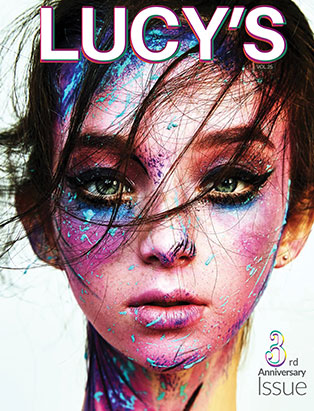 freelance makeup artist and graduate shawnna downing lucy cover
