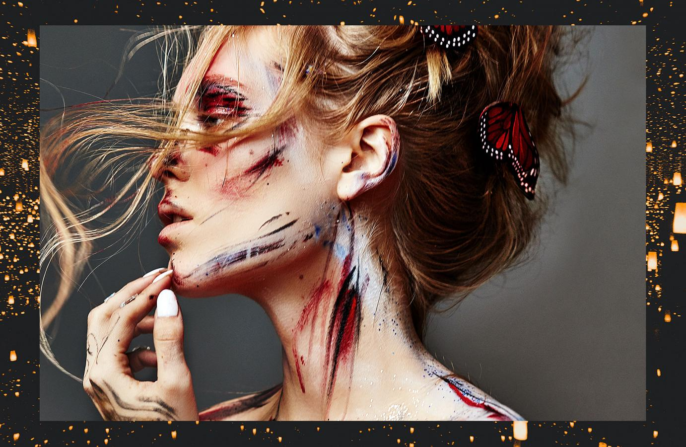 Blanche Macdonald Makeup Artist Shawnna Downing Creates Avant Garde Looks Around the World