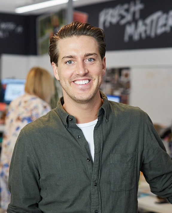 Merchandising Magic: LUSH's HQ Visual Merchandiser, Fashion Marketing grad Kyle Ziegenhagel