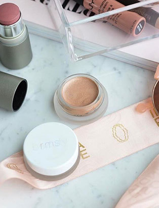 india rose cosmeticary beauty boutique makeup flatlay