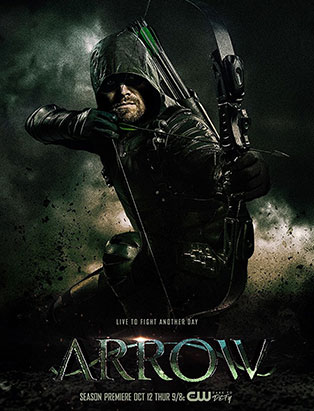 top film makeup graduate cayley giene arrow poster