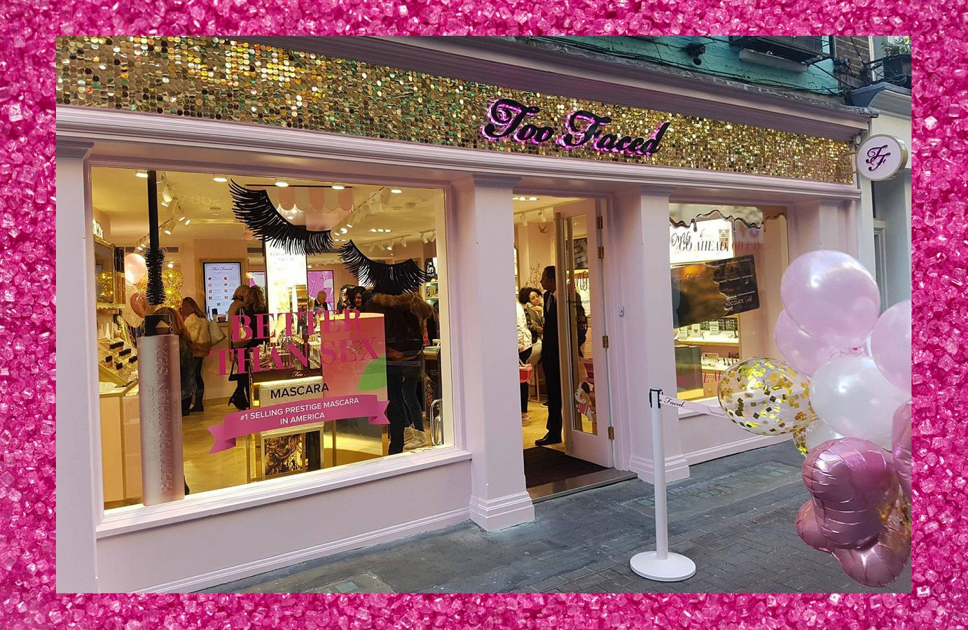 "Livin' that ""Too Faced"" Life on London's Famous Carnaby Street: Genevieve Liska"