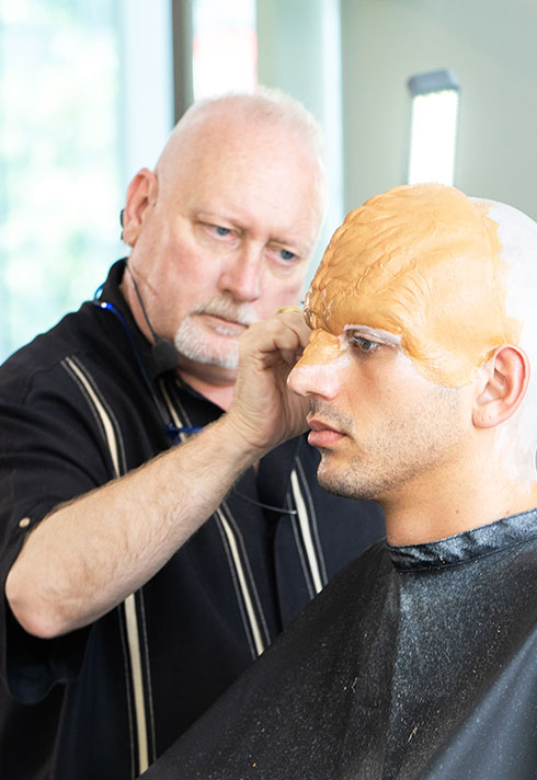 makeup legend todd mcintosh prosthetic application process