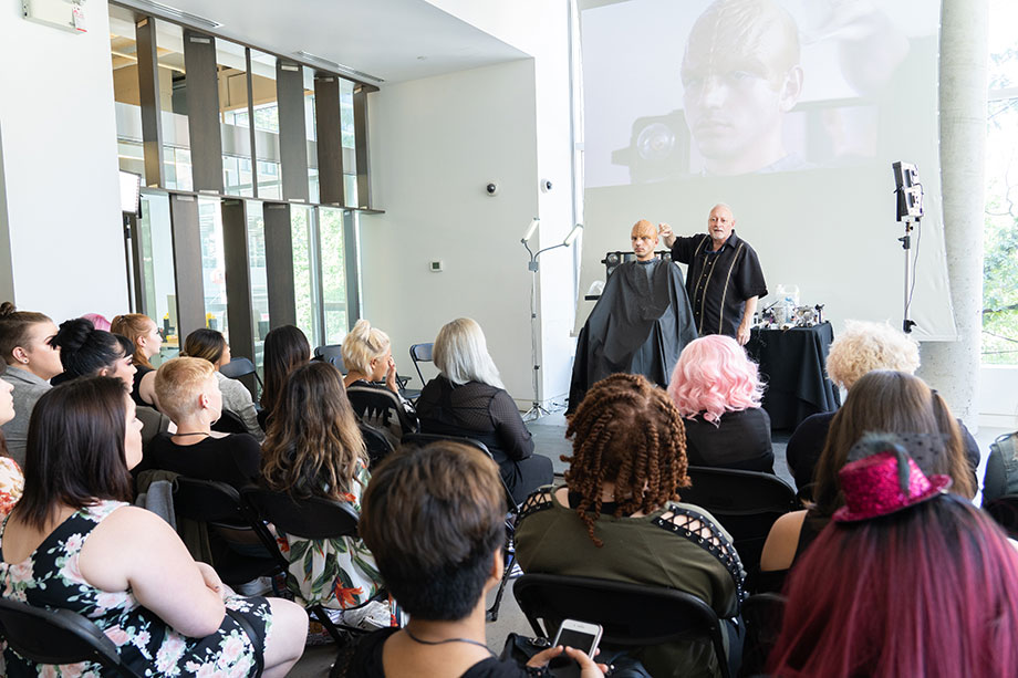 makeup legend todd mcintosh presentation at blanche macdonald