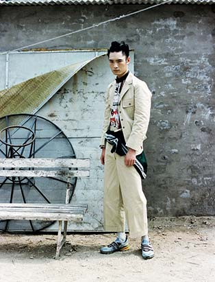 GQ Style China, Jerry Kuo, grooming, editorial, men's fashion