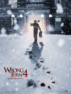 wrong turn 4 movie poster