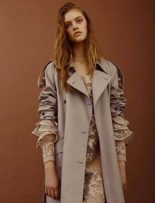 Hilary MacMillan, trench, ready to wear, styling