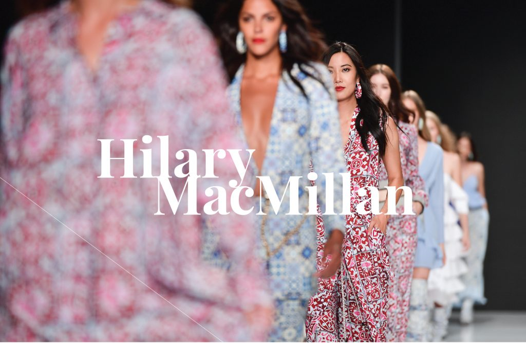 Fashion Design Graduate Hilary MacMillan Dazzles at Toronto Fashion Week and Beyond