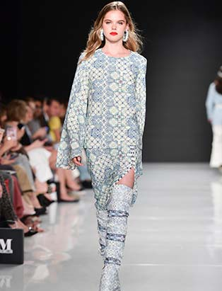 Hilary MacMillan, TFW, Toronto Fashion Week, patterns, coordinates