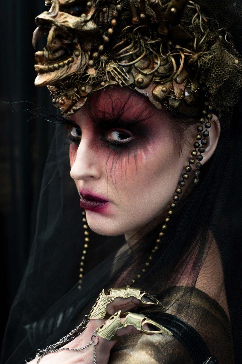 Daemon Cadmon, IMATS, demo, makeup artistry, airbrush