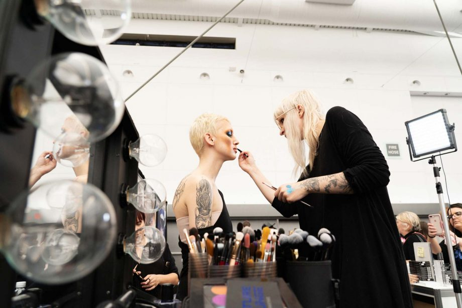 Kelseyanna,IMATS,BMC,prep,goth,makeup
