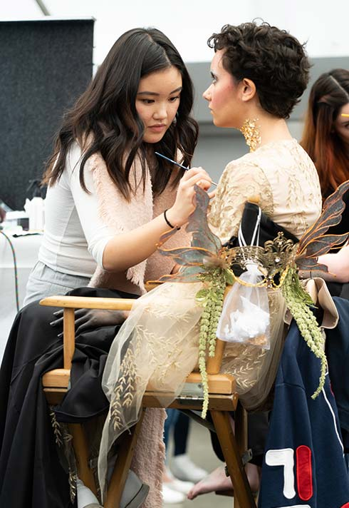 Emily Ngo , makeup, competition, IMATS
