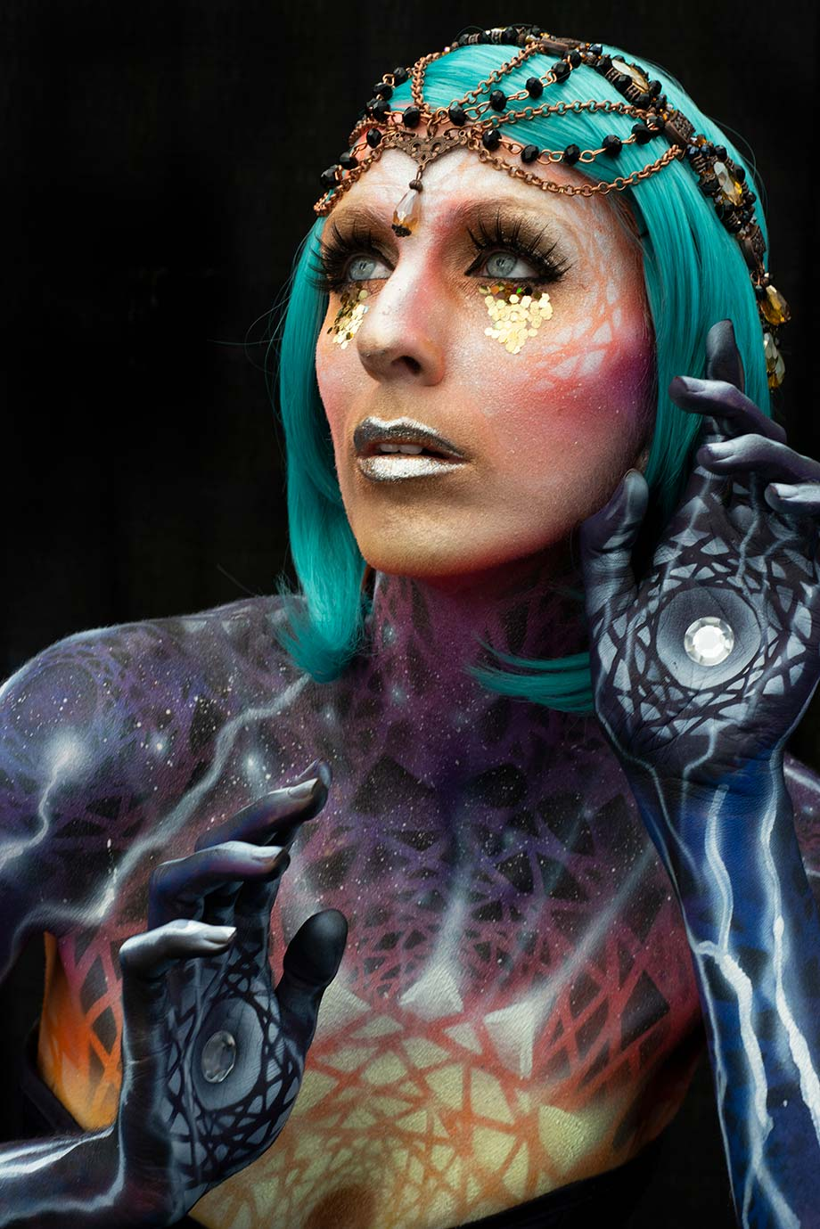 Jennifer Little, fantasy, makeup IMATS