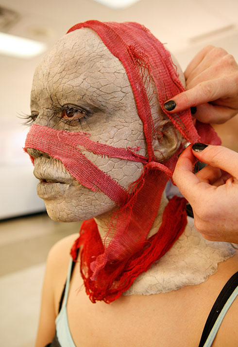 special makeup effects by celine godeau