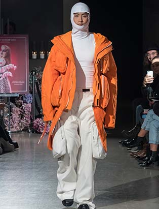 Aaron Pharness, Blanche MacDonald Centre, models, grad show, fashion design school