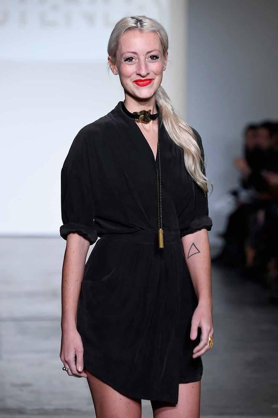 Kirsten Ley, Blanche Macdonald, runway, fashion designer, runway, fashion week