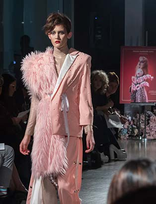 pink, fashion show, BMC, Blanche, fashion design, runway