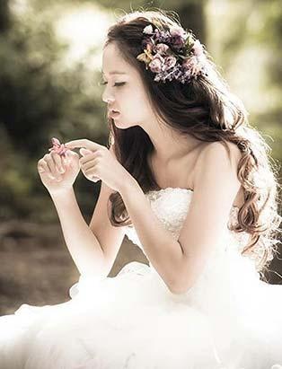 blanche macdonald makeup program graduate sunny lee bridal editorial
