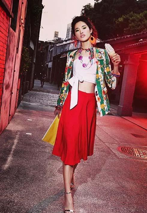 Sunny Lee, makeup, Taiwanese, editorial