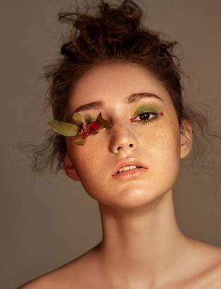 Sunny Lee, makeup, beauty, botanical, nature, fresh