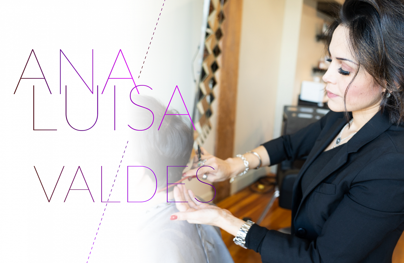 Pro Hair grad Ana Luisa Valdes goes with the Flowstate