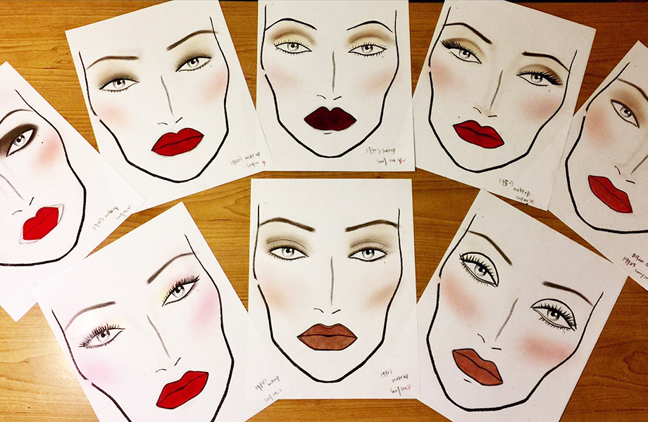 makeup maps by sunny lee international makeup graduate blanche macdonald