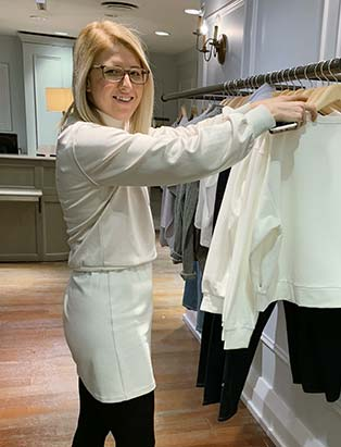 Club Monaco Toronto's District Visual Manager: Fashion Merchandiser Bridget Thiessen