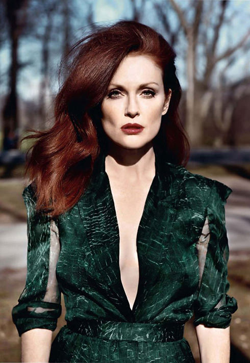 makeup for Julianne Moore by Blanche Macdonald makeup program graduate Jonathan Seti