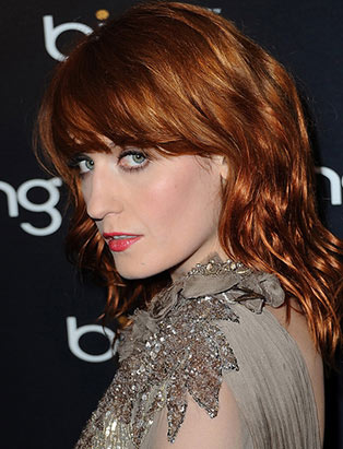makeup for Florence Welch by Blanche Macdonald makeup program graduate Jonathan Seti