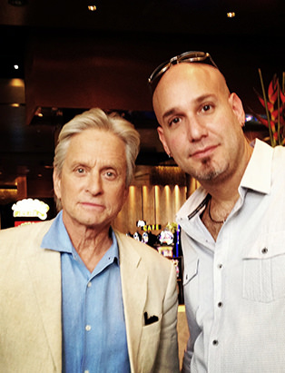 makeup for Michael Douglas by Blanche Macdonald makeup program graduate Jonathan Seti