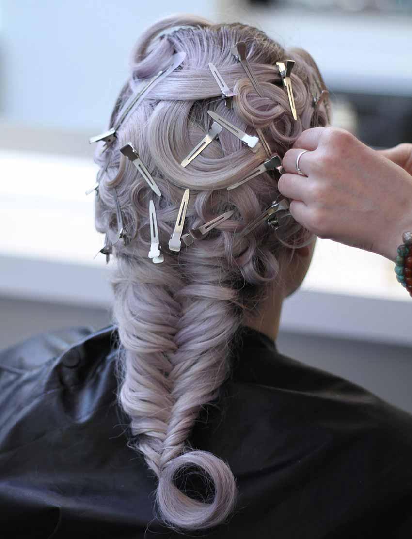 Hair by Amanda Pyrvor, Blanche Macdonald Graduate.