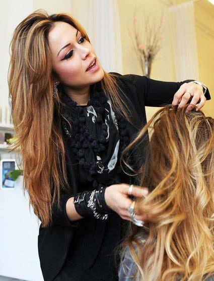 Hair by Ana Luisa, Blanche Macdonald Graduate.