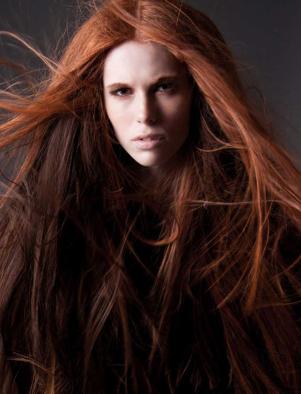 Hair by Dale Ewing, Blanche Macdonald Graduate.