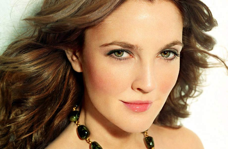 makeup for Drew Barrymore by Blanche Macdonald makeup program graduate Jonathan Seti