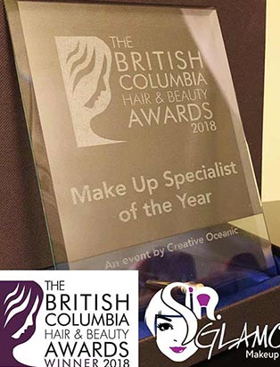 BMC Gradute Sandy Na Wins a British Columbia Hair & Beauty award