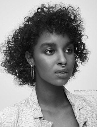 curly hair by BMC graduate Erin Klassen