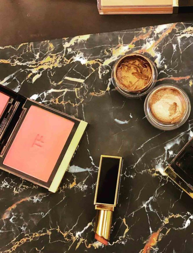 BMC graduate Lori Woodhouse's makeup tools of the trade