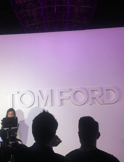Tom Ford show at NYFW