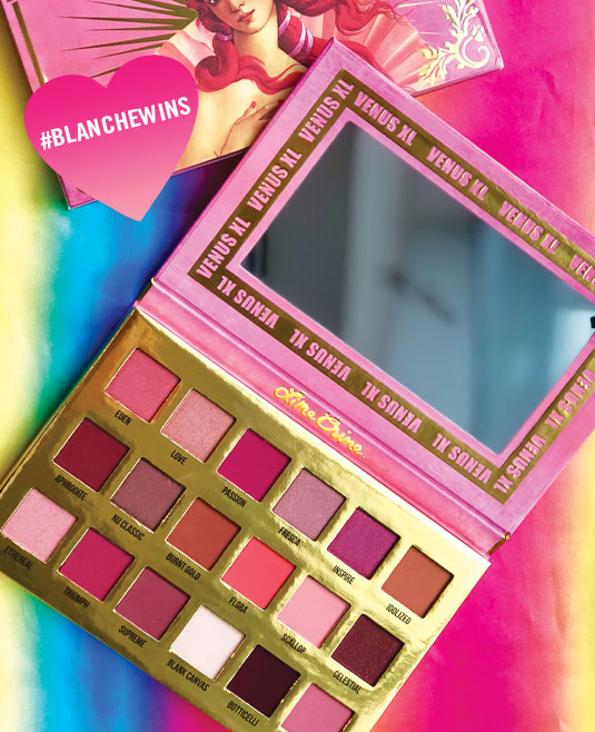#BLANCHEWINS: Lime Crime Cosmetic's Venus XL Eyeshadow Palette