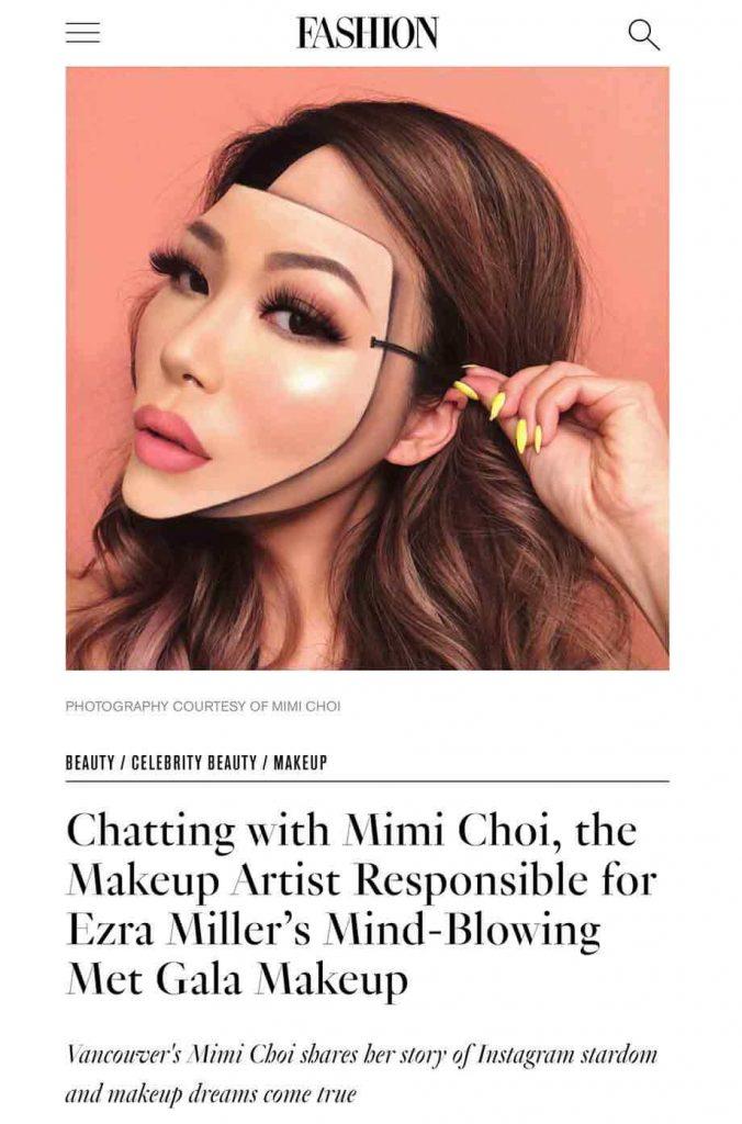 fashion magazine celebrity makeup mind blowing met gala makeup