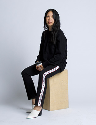 Activewear All Star and Creative Director—Fashion Design Grad Theola Wong