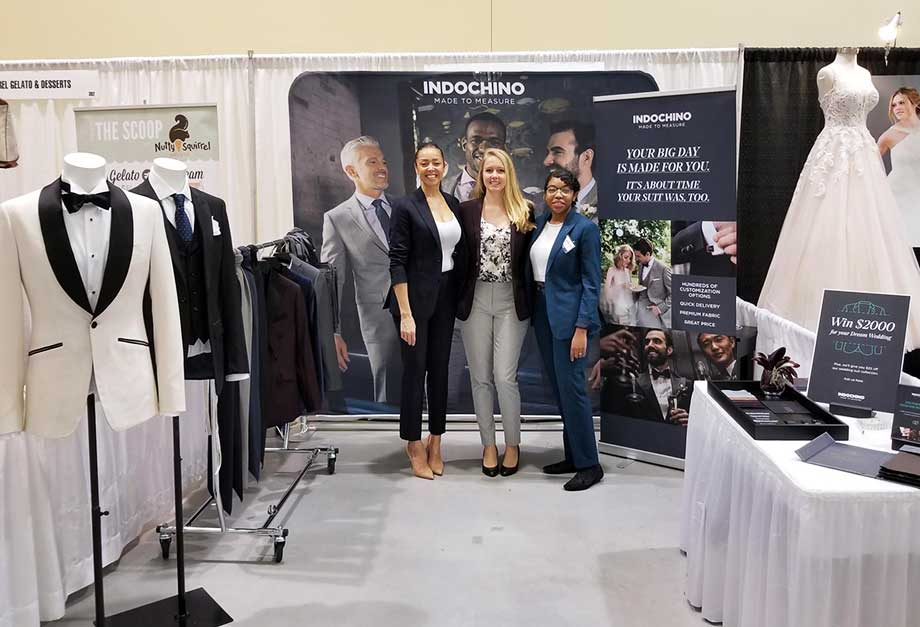 Indochino at The Wedding Show Vancouver