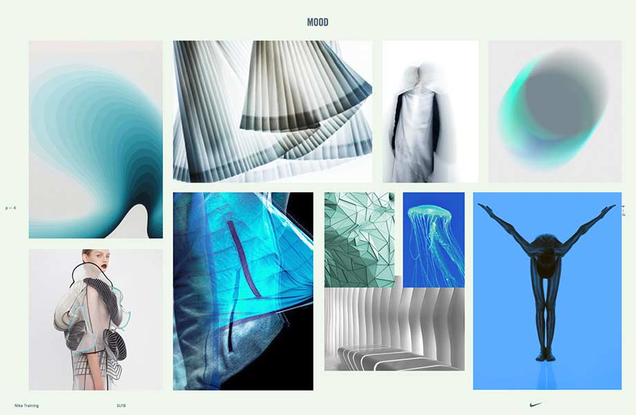 Mood board by Theola Wong, BMC graduate