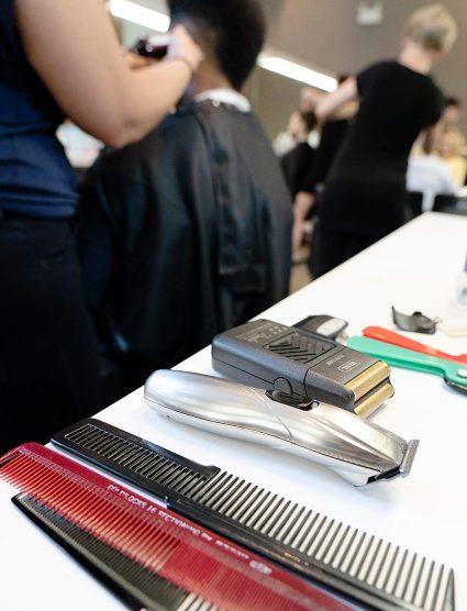 Professional Barbering School Tools