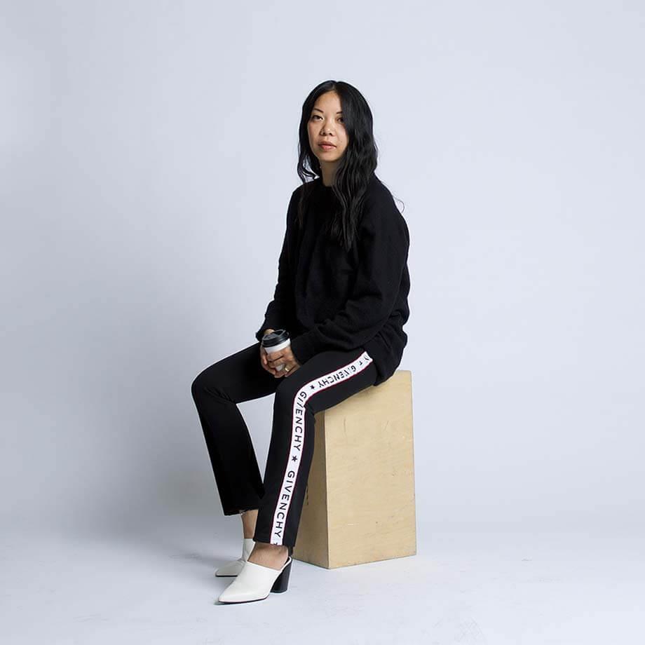 Blanche Macdonald Fashion Design graduate Theola Wong