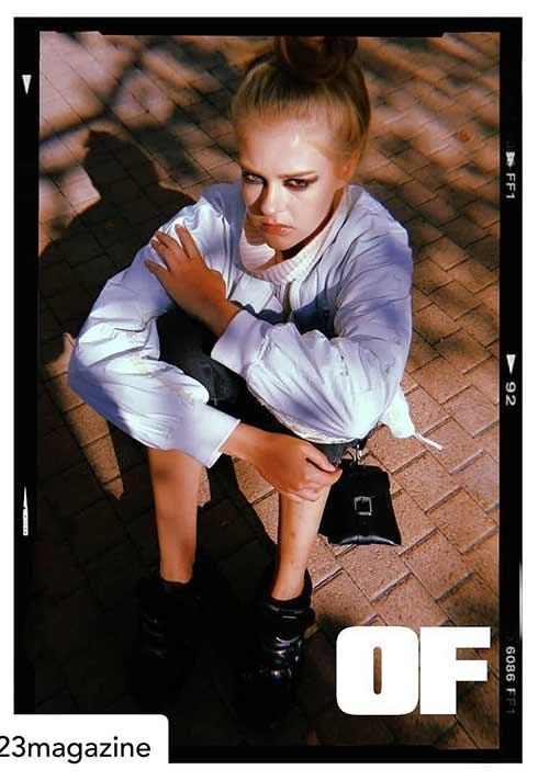1990s editorial by BMC makeup graduate Jana Bizzari