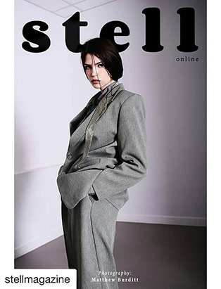 Blanche Macdonald makeup graduate Jana Bizzari's makeup look for the cover of Stella magazine