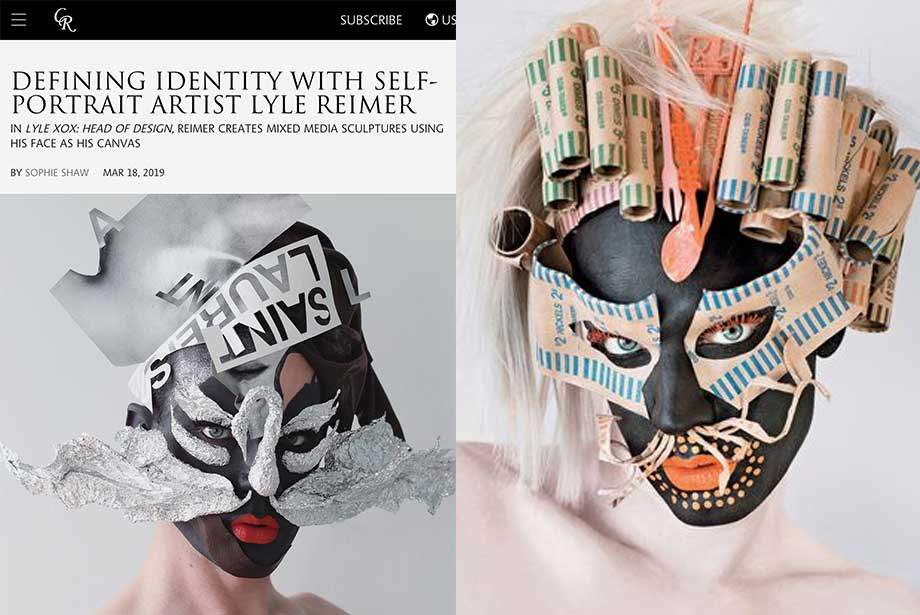 CR Fashion Book features Blanche Macdonald Makeup graduate Lyle Reimer